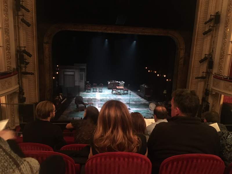 Seating view for Royal Alexandra Theatre Section Dress circle Row D Seat 26