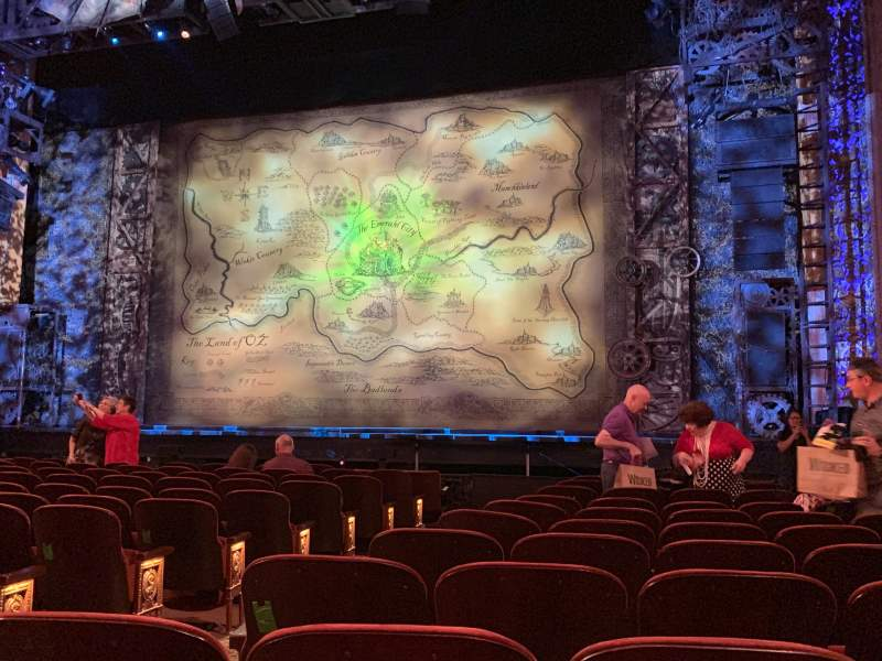 Seating view for Saenger Theatre (New Orleans) Section Orchestra R Row M Seat 6