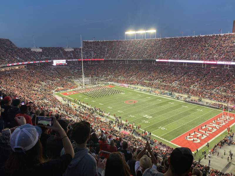 Seating view for Ohio Stadium Section 29C Row 18 Seat 25