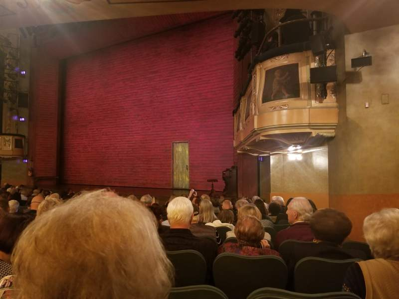 Seating view for Shubert Theatre Section orchestra r Row O Seat 24
