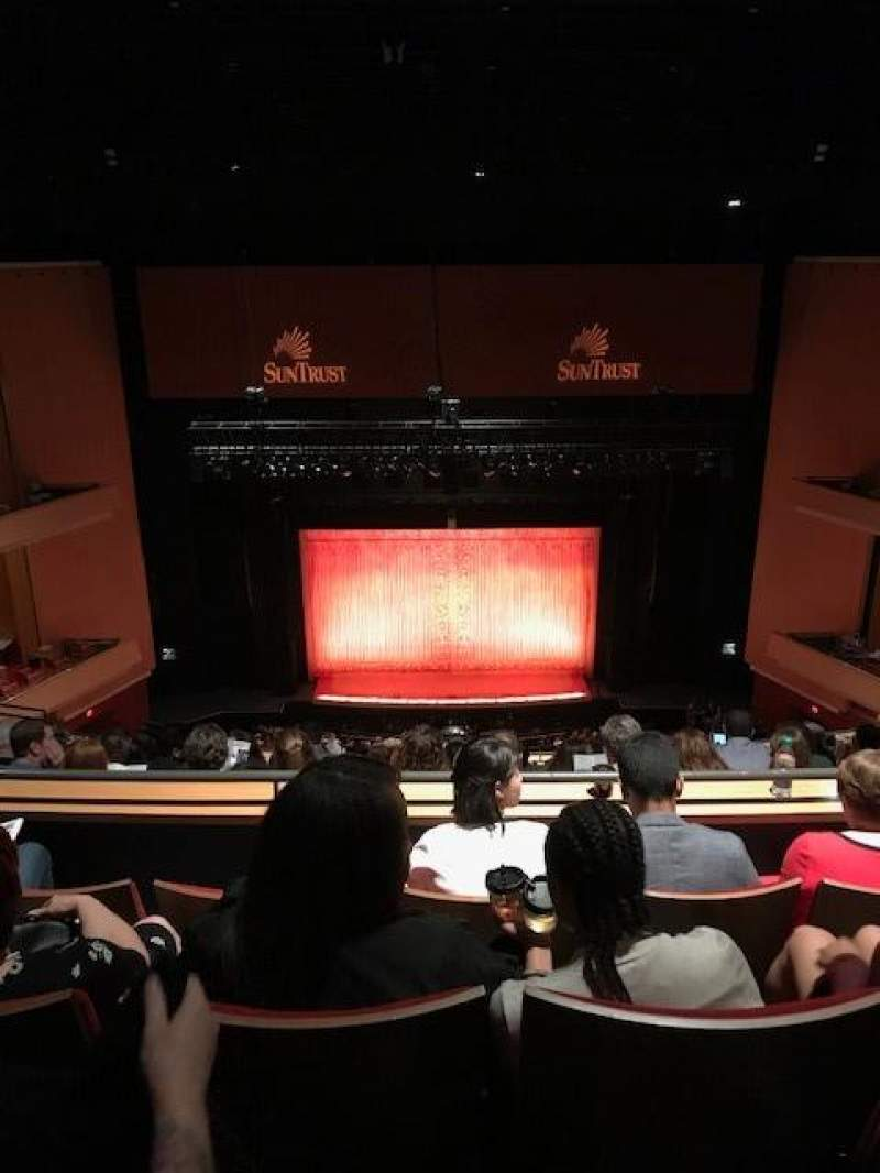 Seating view for Durham Performing Arts Center Section Balcony 9 Row M Seat 114