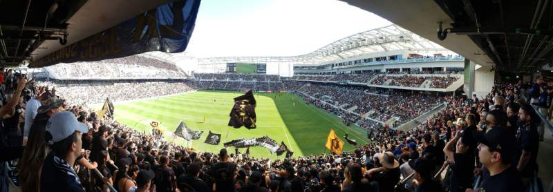 Seating view for Banc of California Stadium Section Ga
