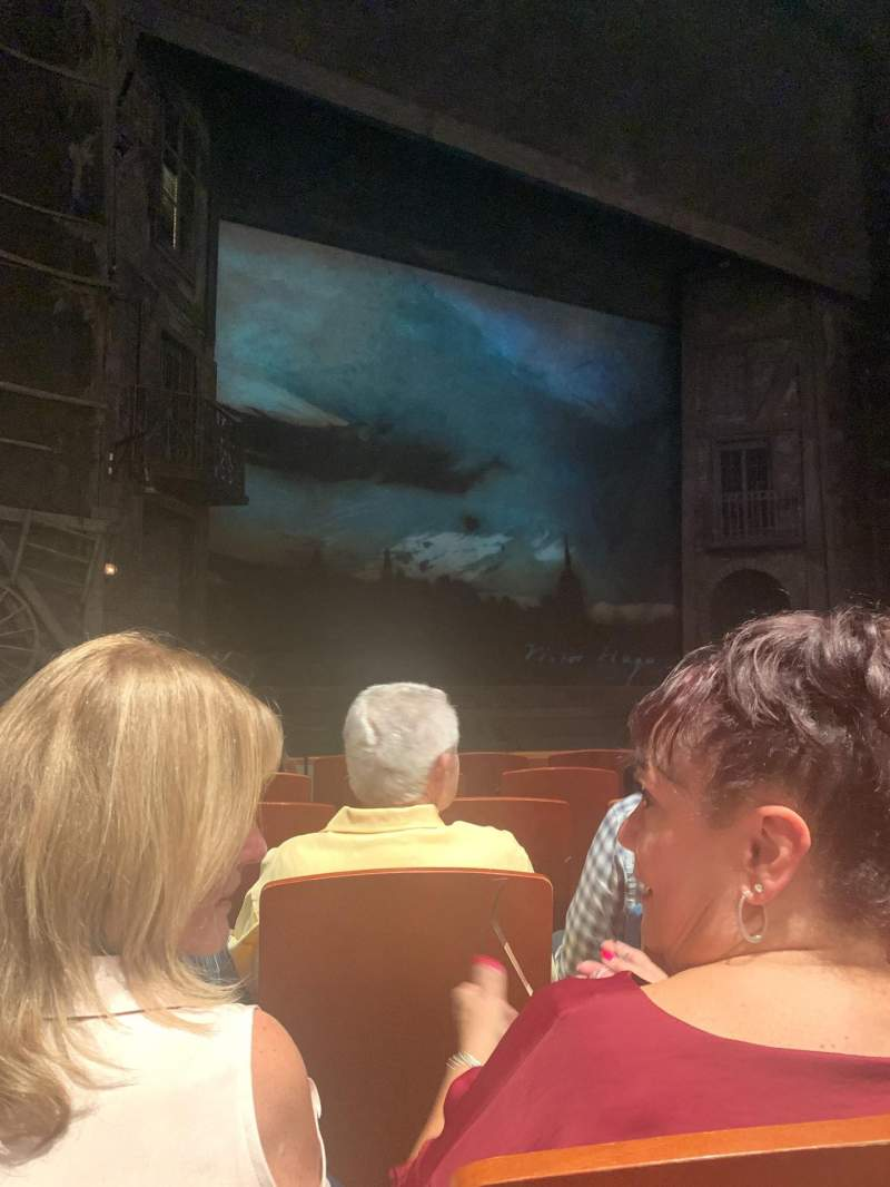 Seating view for Au-Rene Theatre at the Broward Center Section Orchestra L Row J Seat 11