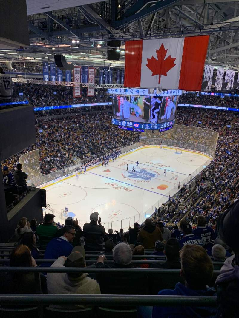 Seating view for Scotiabank Arena Section 313 Row 15 Seat 6