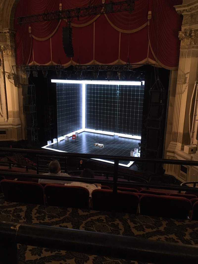 Seating view for Citizens Bank Opera House Section Mezzanine R Row A Seat 14