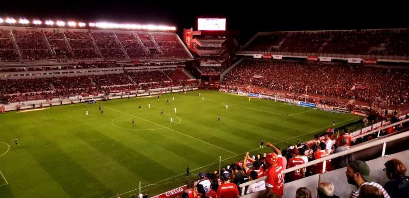 Seating view for Estadio Libertadores de America