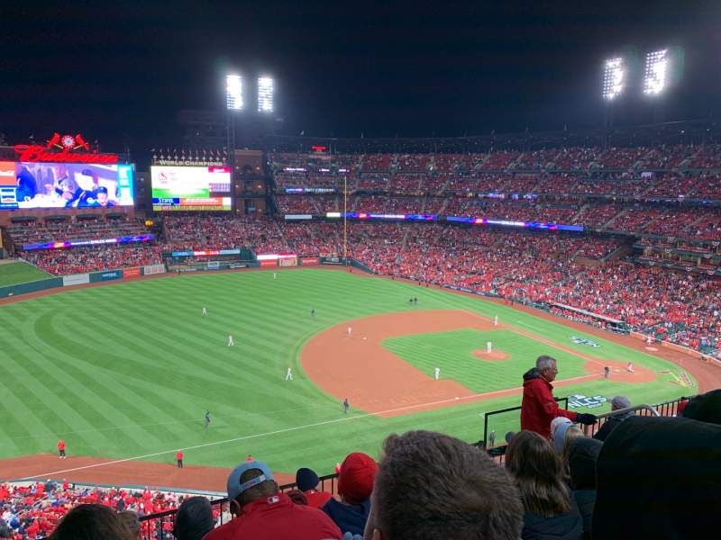 Seating view for Busch Stadium Section 369 Row 6 Seat 8