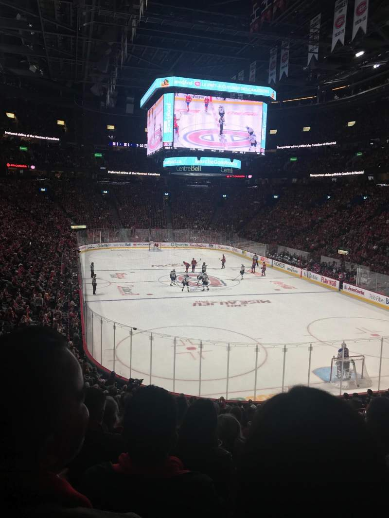 Seating view for Centre Bell Section 108 Row P Seat 13
