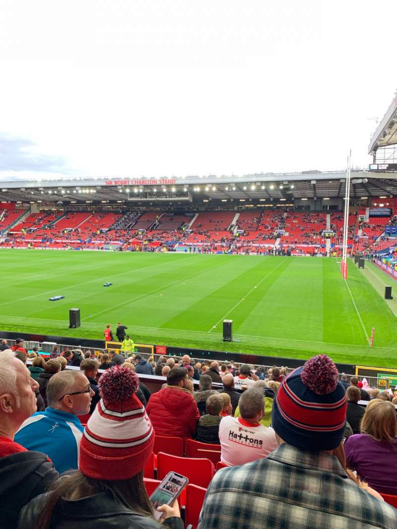 Seating view for Old Trafford Section N2411