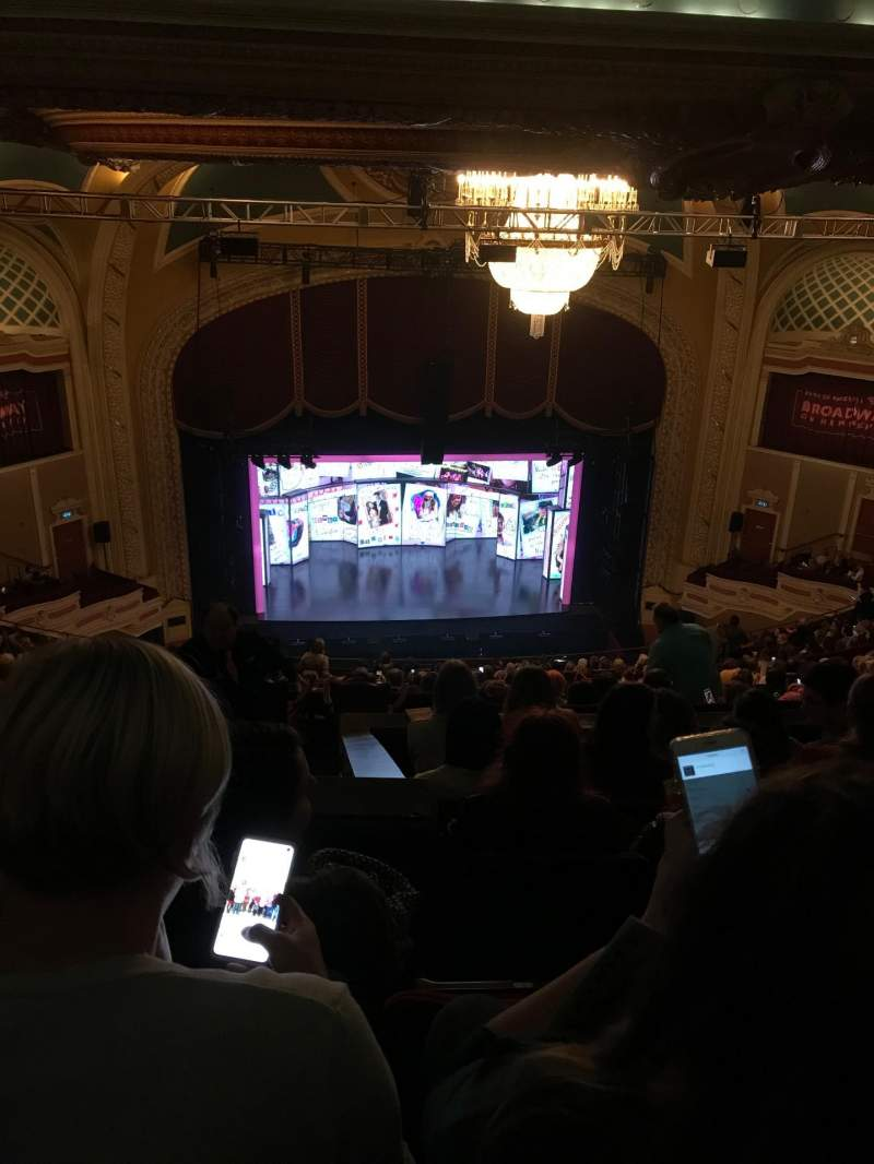 Seating view for Orpheum Theatre (Minneapolis) Section Balcony 7 Row V Seat 5