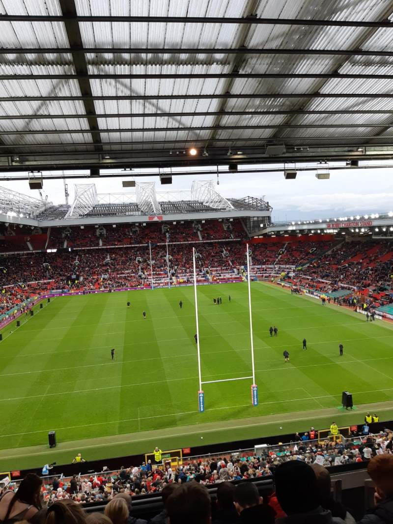 Seating view for Old Trafford Section W3103 Row 7 Seat 107