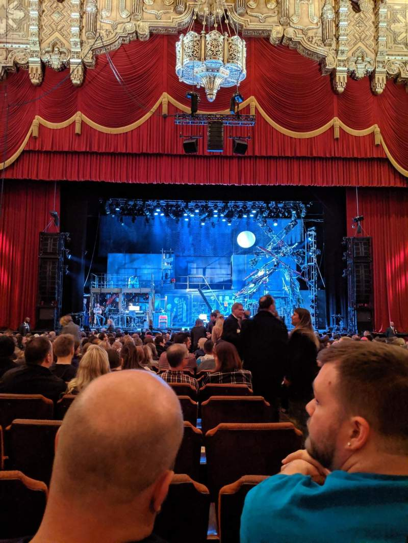 Seating view for Fox Theatre (Detroit) Section F3 Row T Seat 314