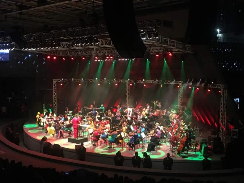 Seating view for Concha Acústica do Teatro Castro Alves Section 2 Row 15 Seat 20