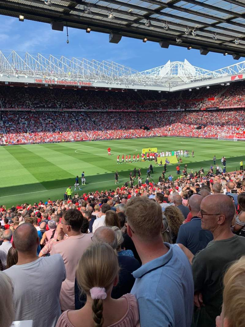 Seating view for Old Trafford Section STH122 Row 26 Seat 197