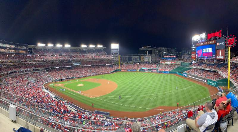 Seating view for Nationals Park Section 224 Row D Seat 11