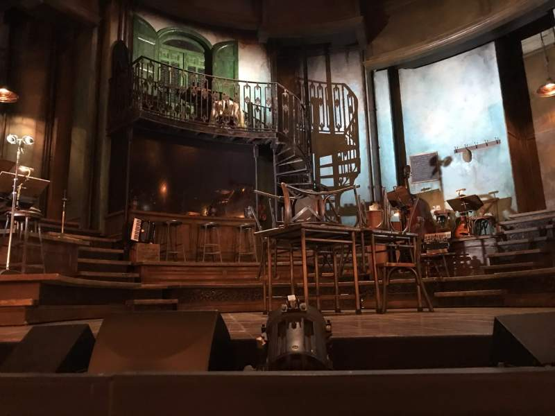 Seating view for Walter Kerr Theatre Section Orchestra C Row C Seat 109