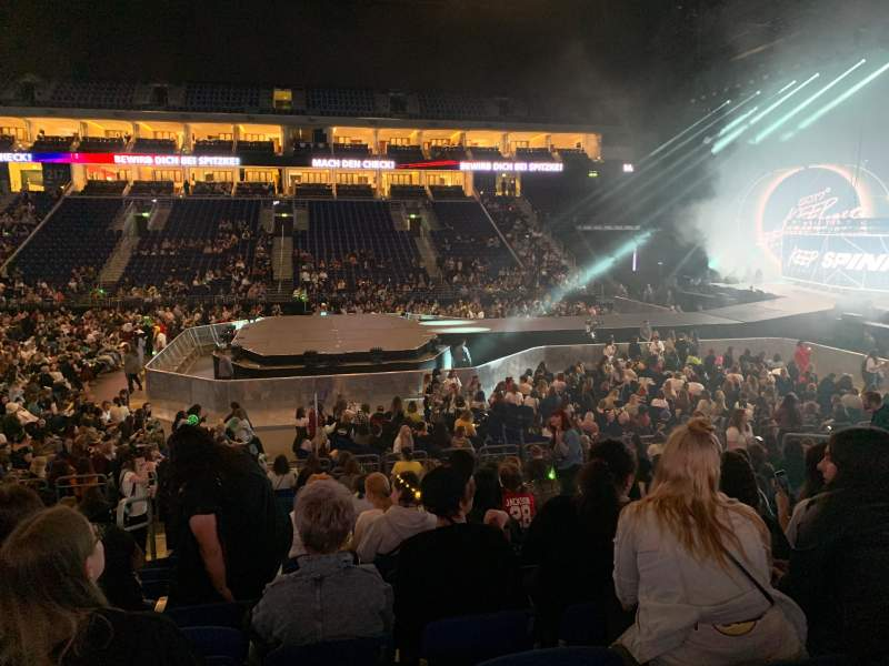 Seating view for Mercedes-Benz Arena (Berlin) Section 207 Row 14 Seat 3