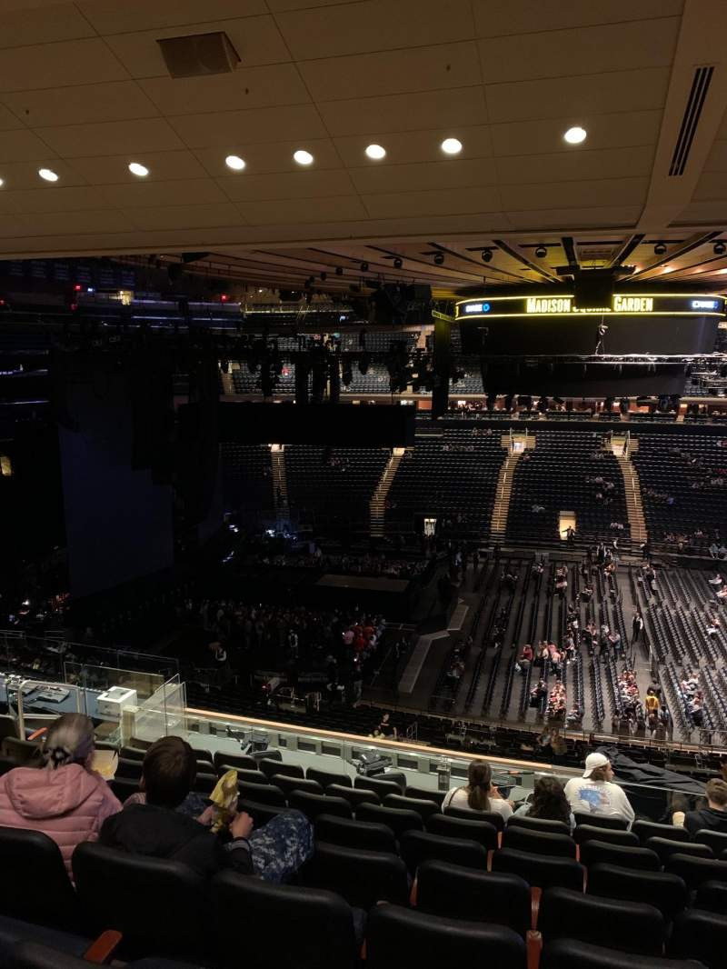 Seating view for Madison Square Garden Section 224 Row 11 Seat 7