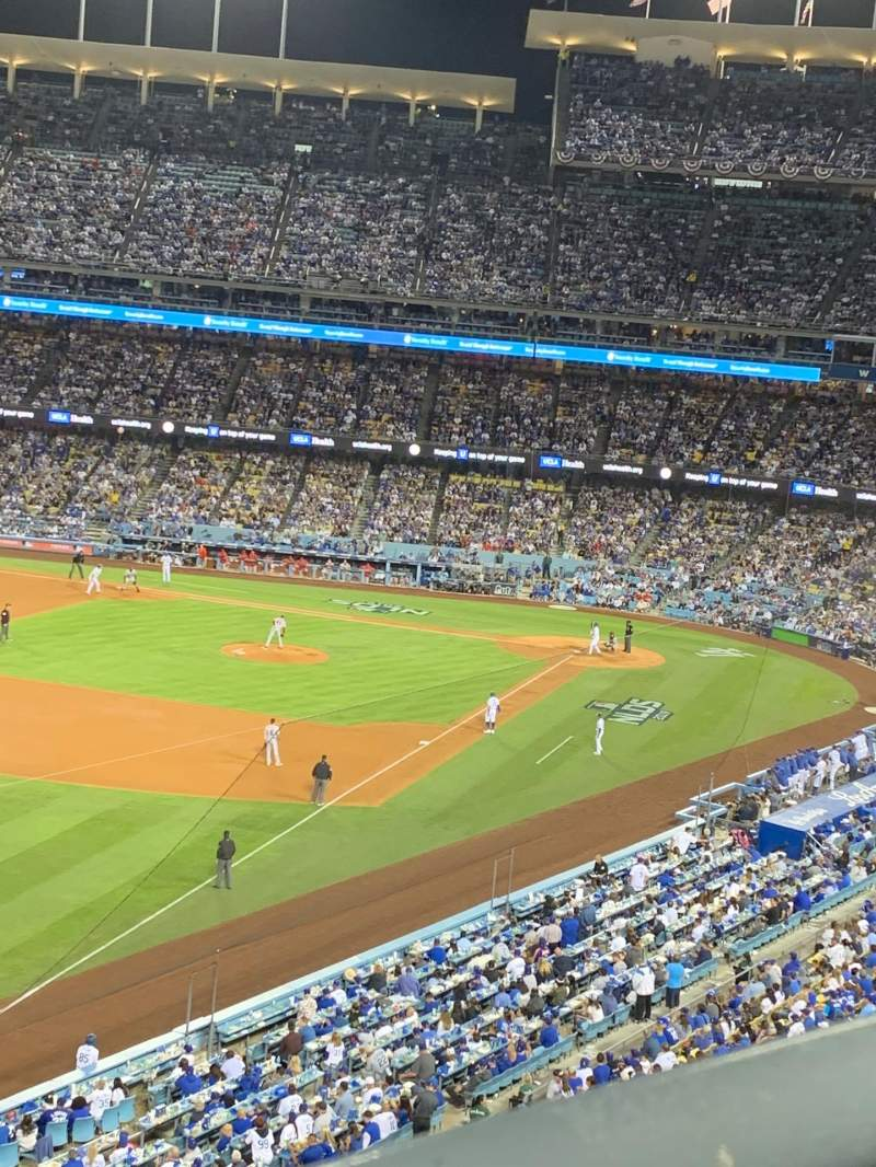 Seating view for Dodger Stadium Section 47RS Row A Seat 6