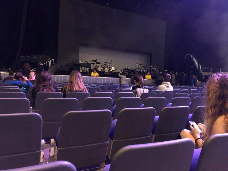 Seating view for The O2 Arena Section Floor A1 Row P Seat 2