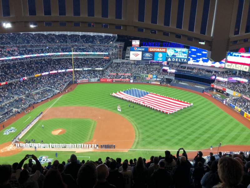 Seating view for Yankee Stadium Section 415 Row 14 Seat 16