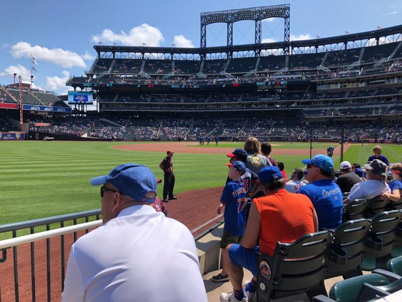 Seating view for Citi Field Section 128 Row 3 Seat 17