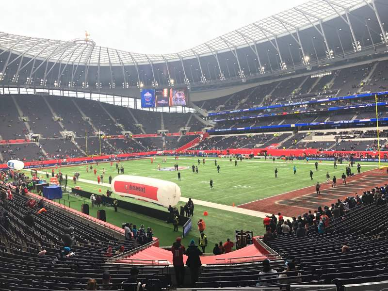 Seating view for Tottenham Hotspur Stadium Section Suite 236 Row 2