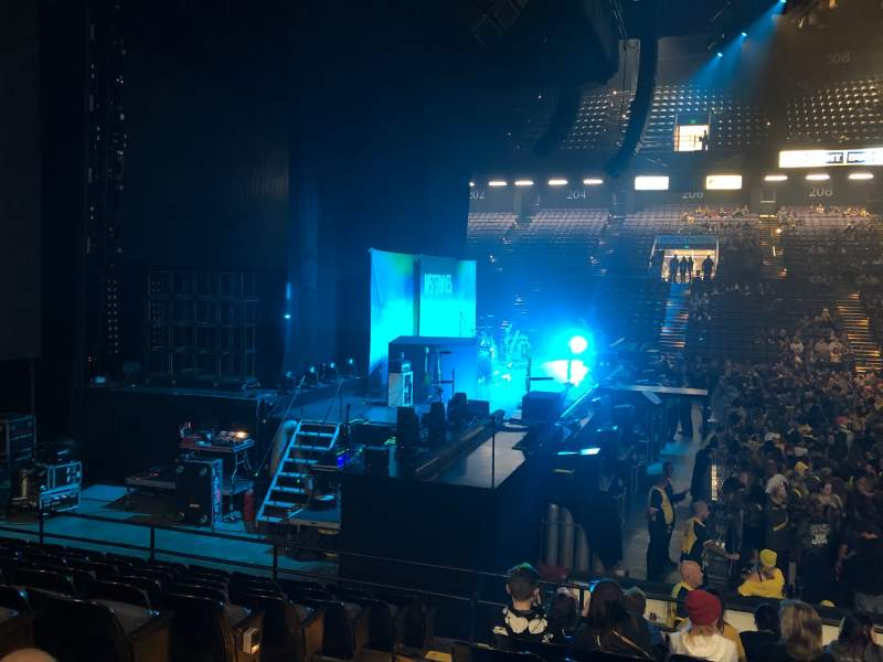 Seating view for Royal Farms Arena Section 105 Row K Seat 11