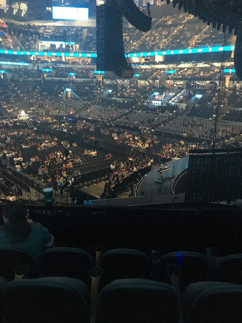 Seating view for AT&T Center Section 117 Row 28 Seat 12