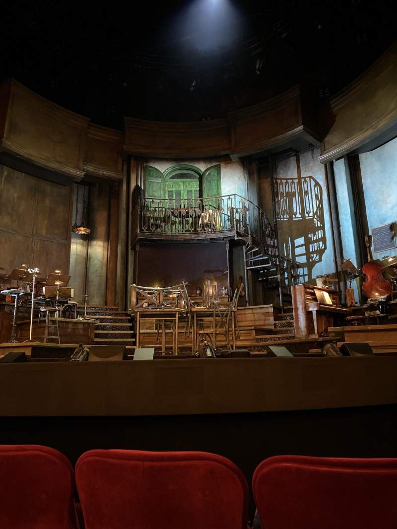Seating view for Walter Kerr Theatre Section Orchestra C Row E Seat 103