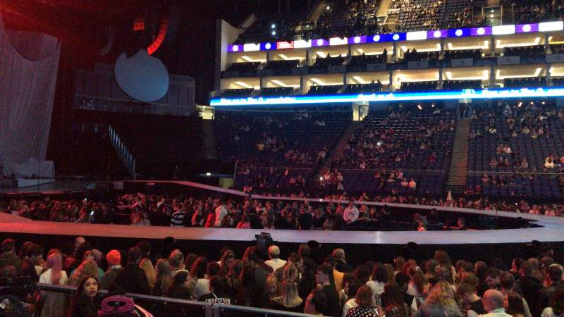 Seating view for The O2 Arena Section 102 Row F Seat 52