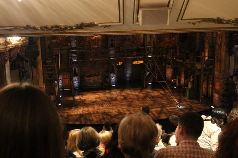 Seating view for Victoria Palace Theatre Section Royal Circle Row L Seat 30