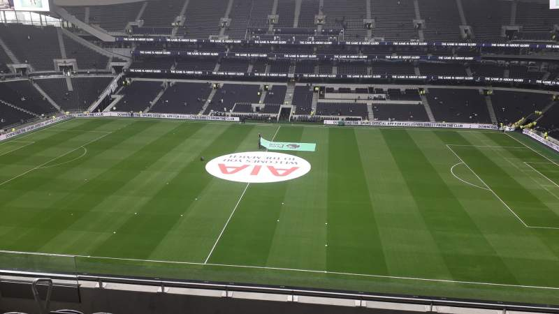 Tottenham Hotspur Stadium, Section A250, Row 7, Seat 810