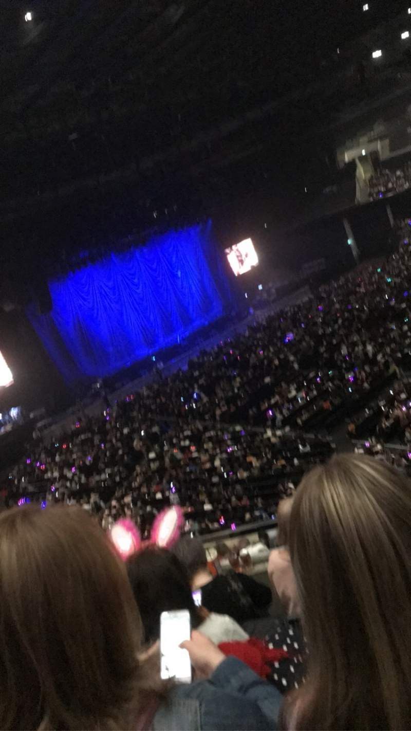 Seating view for The SSE Hydro Section 226 Row L Seat 127