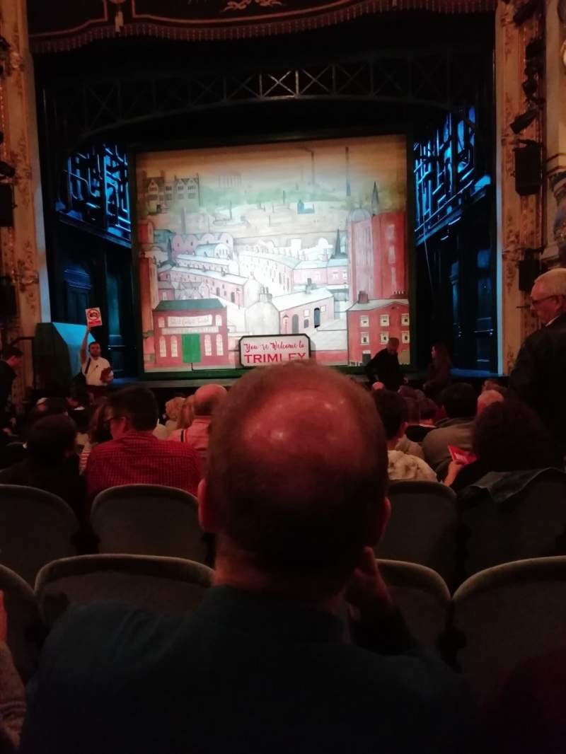 Seating view for Wyndham's Theatre Section Stalls Row L Seat 11