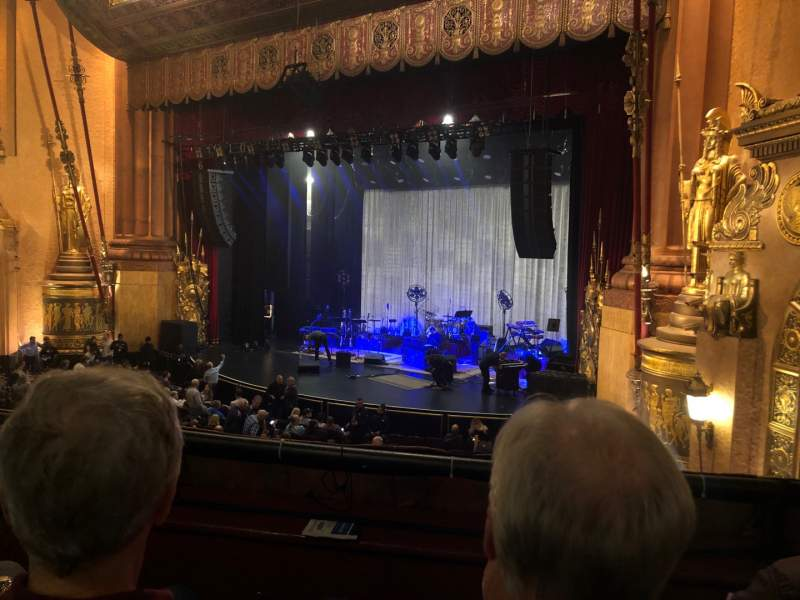 Seating view for Beacon Theatre Section Loge 4 Row B Seat 38