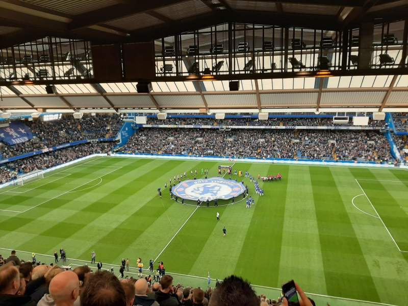 Seating view for Stamford Bridge Section West Stand Upper 3 Row 26 Seat 53