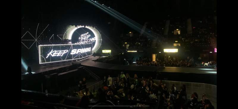 Seating view for SSE Arena, Wembley Section S8 Row E
