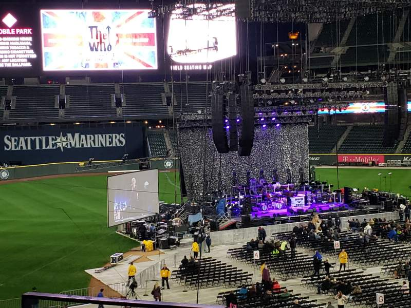 Seating view for T-Mobile Park Section 236 Row 4 Seat 10