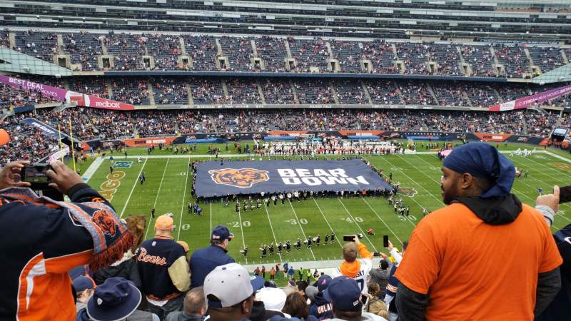 Seating view for Soldier Field Section 440 Row 12 Seat 14