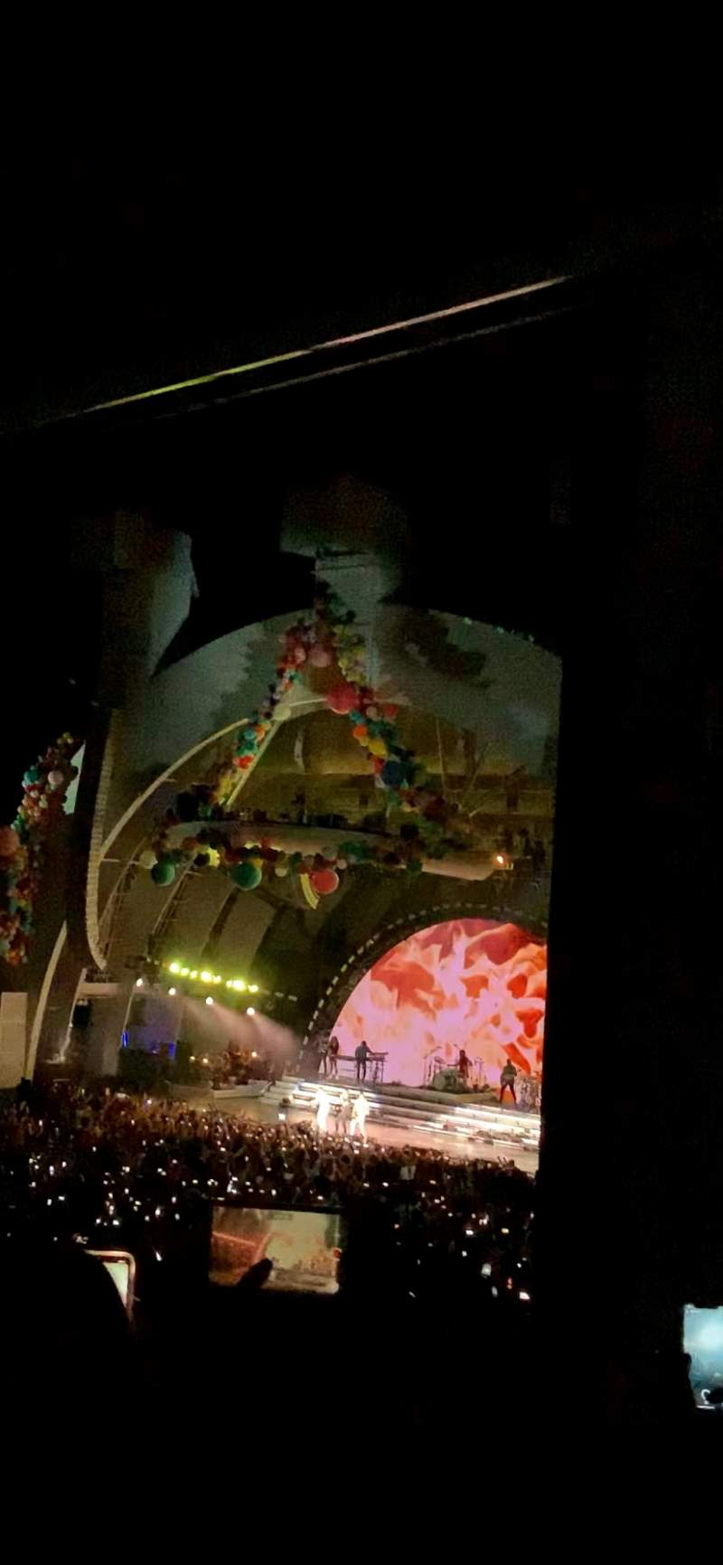 Seating view for Hollywood Bowl Section F3 Row 4 Seat 30 and 32
