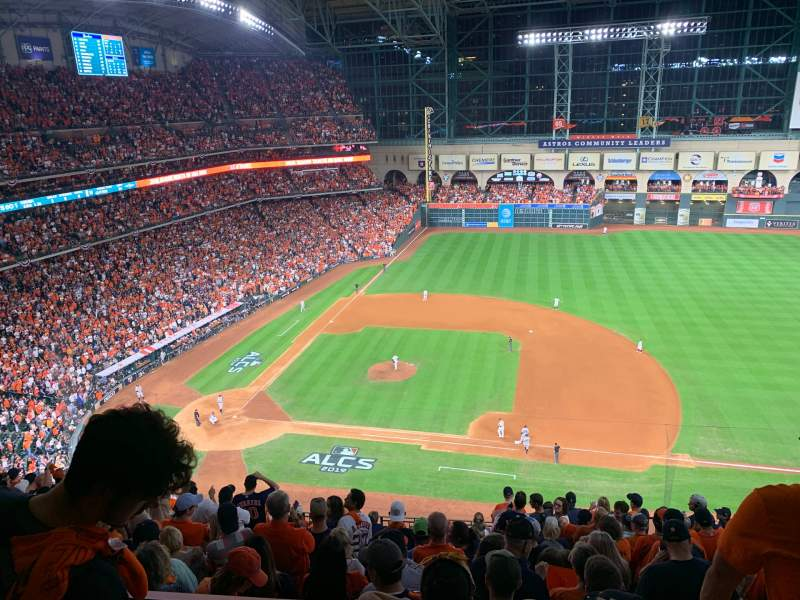 Seating view for Minute Maid Park Section 425 Row 3 Seat 18