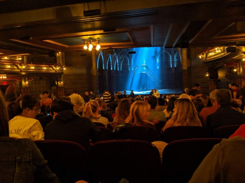 Seating view for Lyric Theatre Section orchestra R Row Y Seat 24