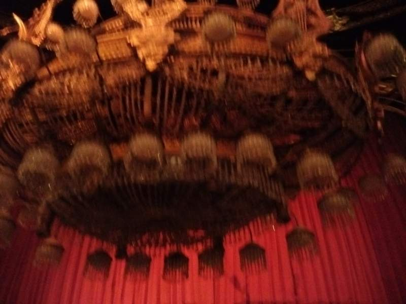 Seating view for Majestic Theatre Section Orchestra C Row B Seat 108