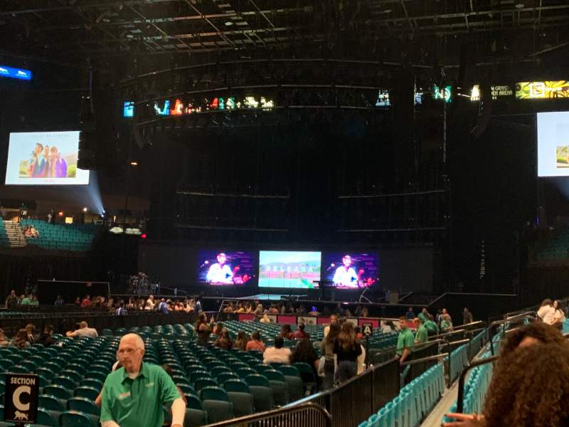 Seating view for MGM Grand Garden Arena Section 8 Row C Seat 9