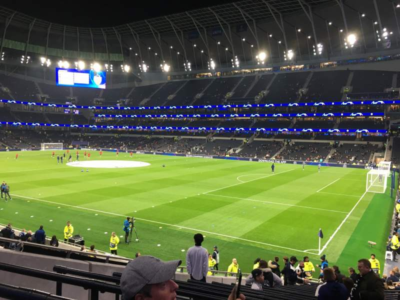 Seating view for Tottenham Hotspur Stadium Section 260 Row 22 Seat 413