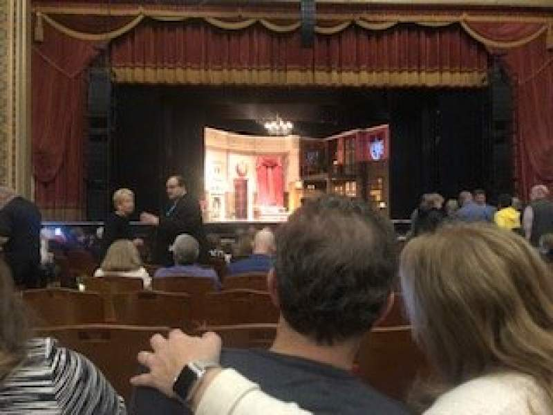 Seating view for Altria Theater Section Orch C Row M Seat 311