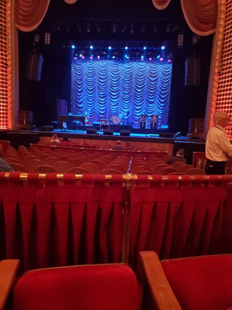 Seating view for Pabst Theater Section 1CT Row L Seat 11