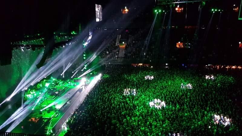 Seating view for Ziggo Dome Section 212 Row 5
