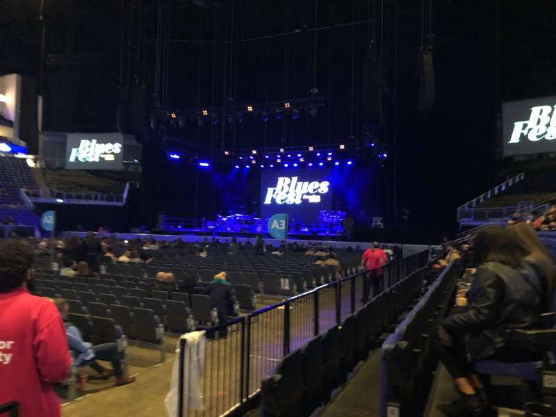 Seating view for The O2 Arena Section 111 Row C Seat 336